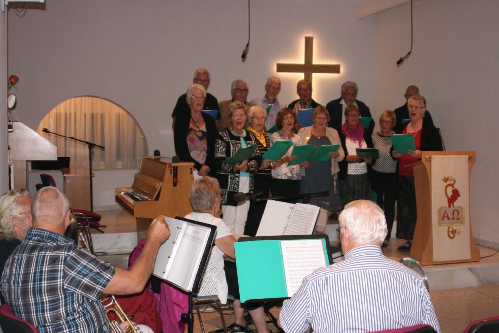 Turistkyrkans musiker och sångare